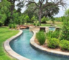 lazy river pool for home lazy river pool on home ideas 3 natural backyard pools with