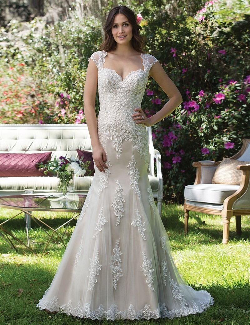 lace cap sleeve wedding dress lace cap sleeve wedding dress