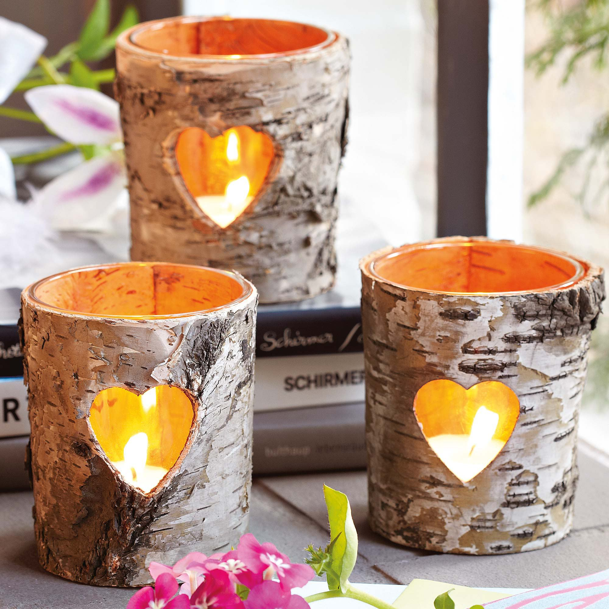 Lastly, but certainly not least among the most creative wine glass  decorating ideas ever are these Wine Glass Candle Holders