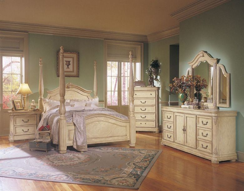 B1630 Stanley Antique White Marble Bedroom
