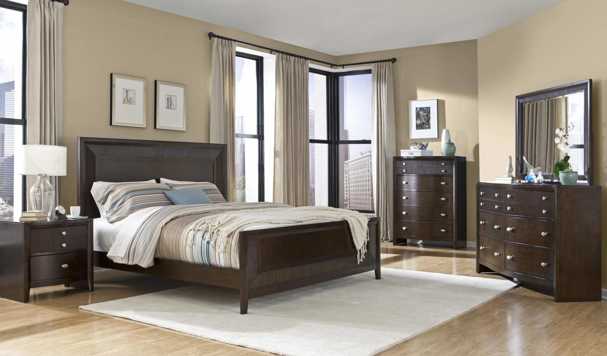 Adorable Espresso Colored Bedroom Furniture Brown Coloured Grace Set Finish Licious Ure Paint In Colors P Home Design Ideas Inspired Living Enchanting Room