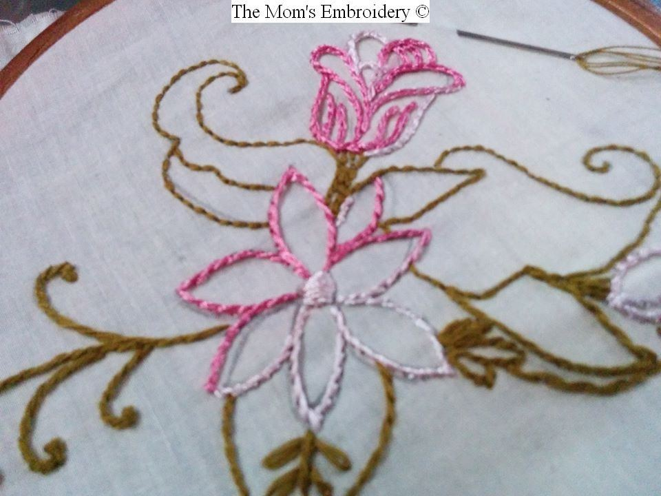 Kelly Cline Quilting – combining hand embroidery with long arm quilting #brazili