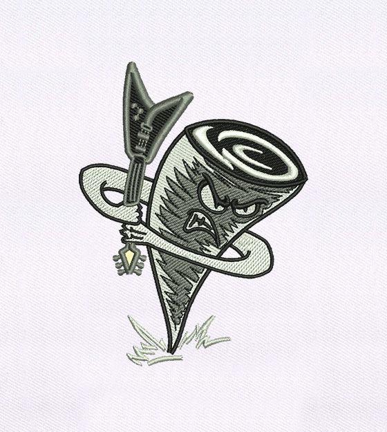 CoCoa Guitar Machine Applique Embroidery Design