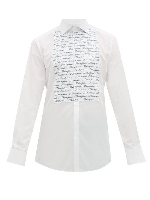 Brand Designer Dress Shirt Men Fashion 2018 New Slim Fit Tuxedo Black&White  Patchwork Color Long Sleeve