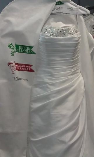 My mom took my wedding dress to the cleaner without me knowing