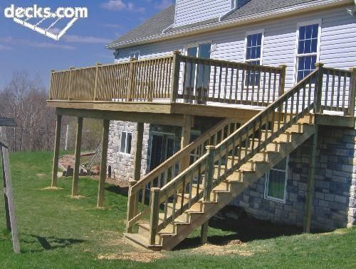 two story deck how to build a second story deck two story deck plans best  backyard