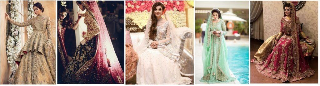 Latest Pakistani Designer Bridal Wedding Dresses 2018   BestStylo
