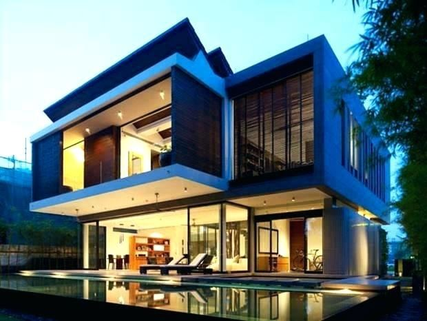 Full Size of 2 Storey Contemporary House Design Designs Ireland Two Single  Home With Flat Roof