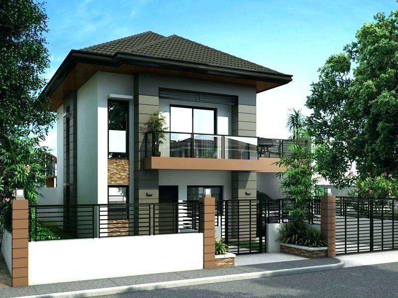 Full Size of Modern Two Storey House Design Philippines Double Story Plans  Pdf Three Building Creative