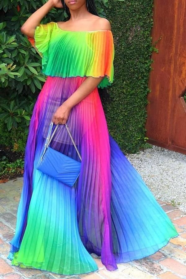 2019 Women Designer Tie Dyed Dress Summer Sleeveless Casual Skirt Both Sides Straps Bodycon Dress Fashion One Piece Clothes Outfits NEW C42203 From