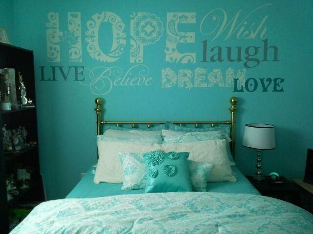 Beautiful Tiffany Blue Bedroom Decorating Ideas Blue Floral Fabric  Vertical Curtain Blue Moroccan Fabric Bean Bag