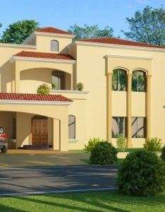 New Beautiful House Design D Front Elevation Pakistan Most Designs Kerala Style