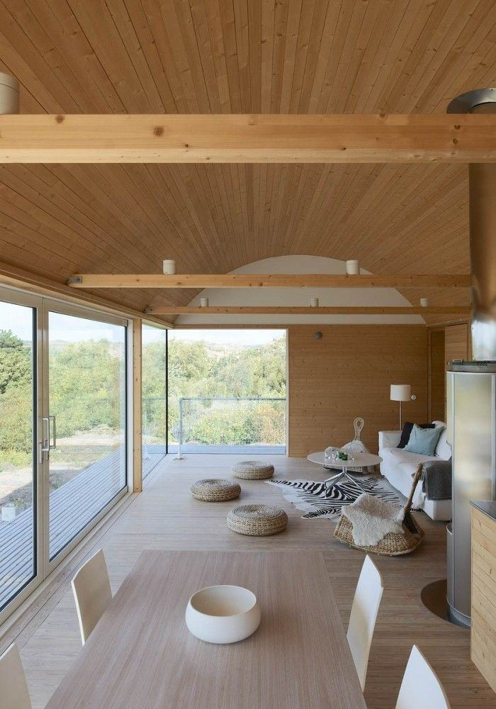 In general, such a relaxing and cozy design of a wooden  house!