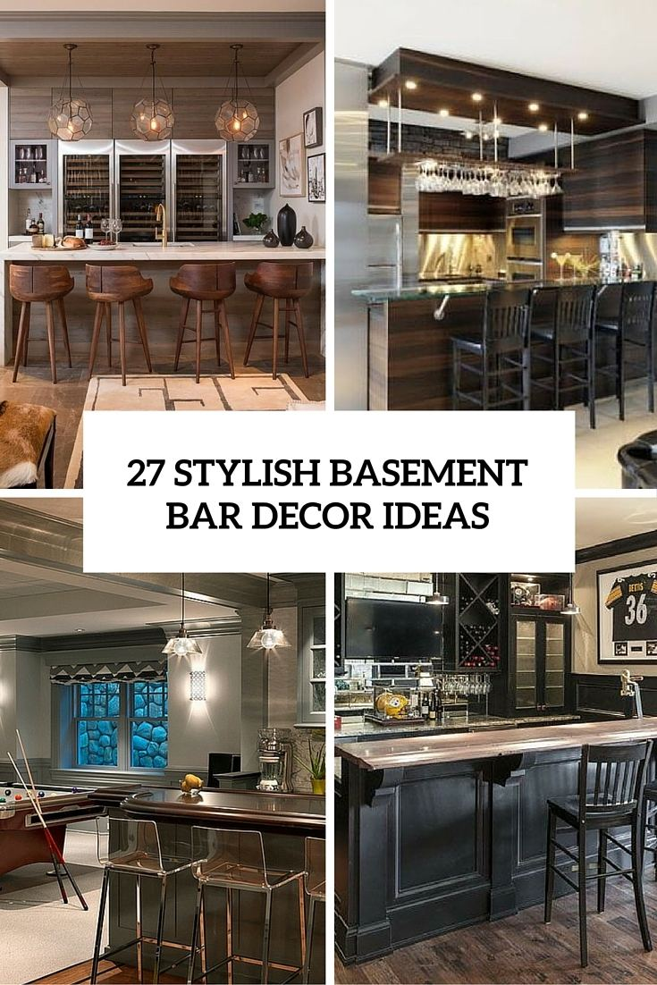 bar decor ideas home bars decorating coffee kitchen wall counter internet co tiki