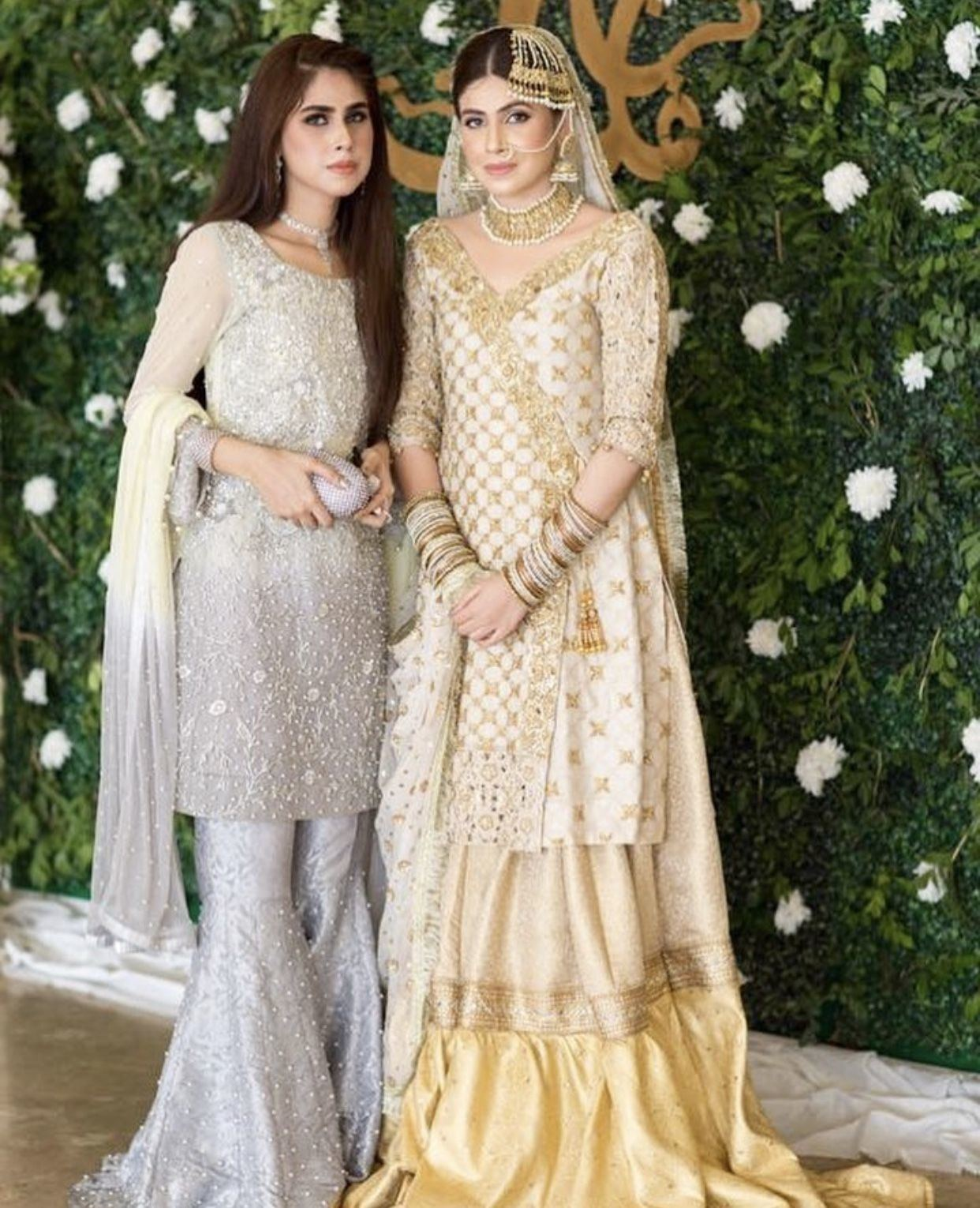 For me, white is just thee best color for any bride, desi or non