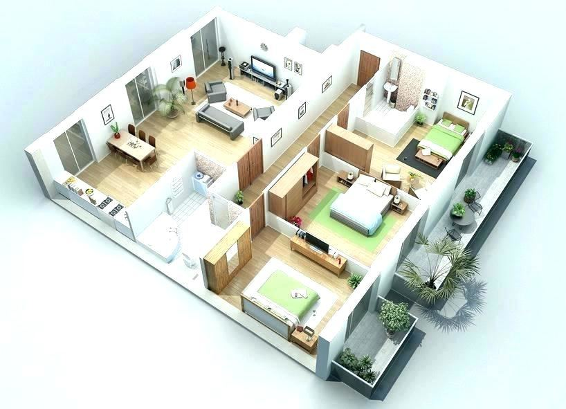 Kerala Single Bedroom Flat House Plan In Square Feet Architecture Plans
