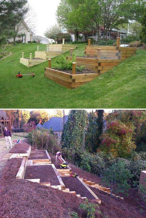Erect a Retaining Wall