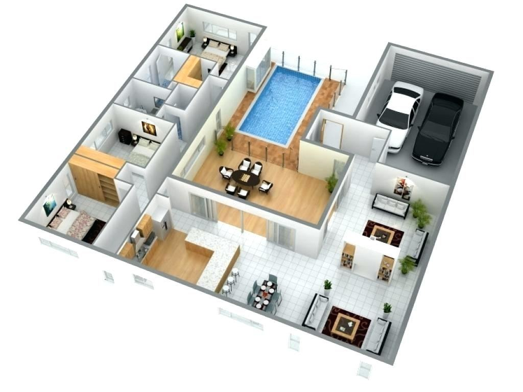 Medium Size of Modern Small House Floor Plans Free 3 Design Ground Only 4  Bedroom Elevation