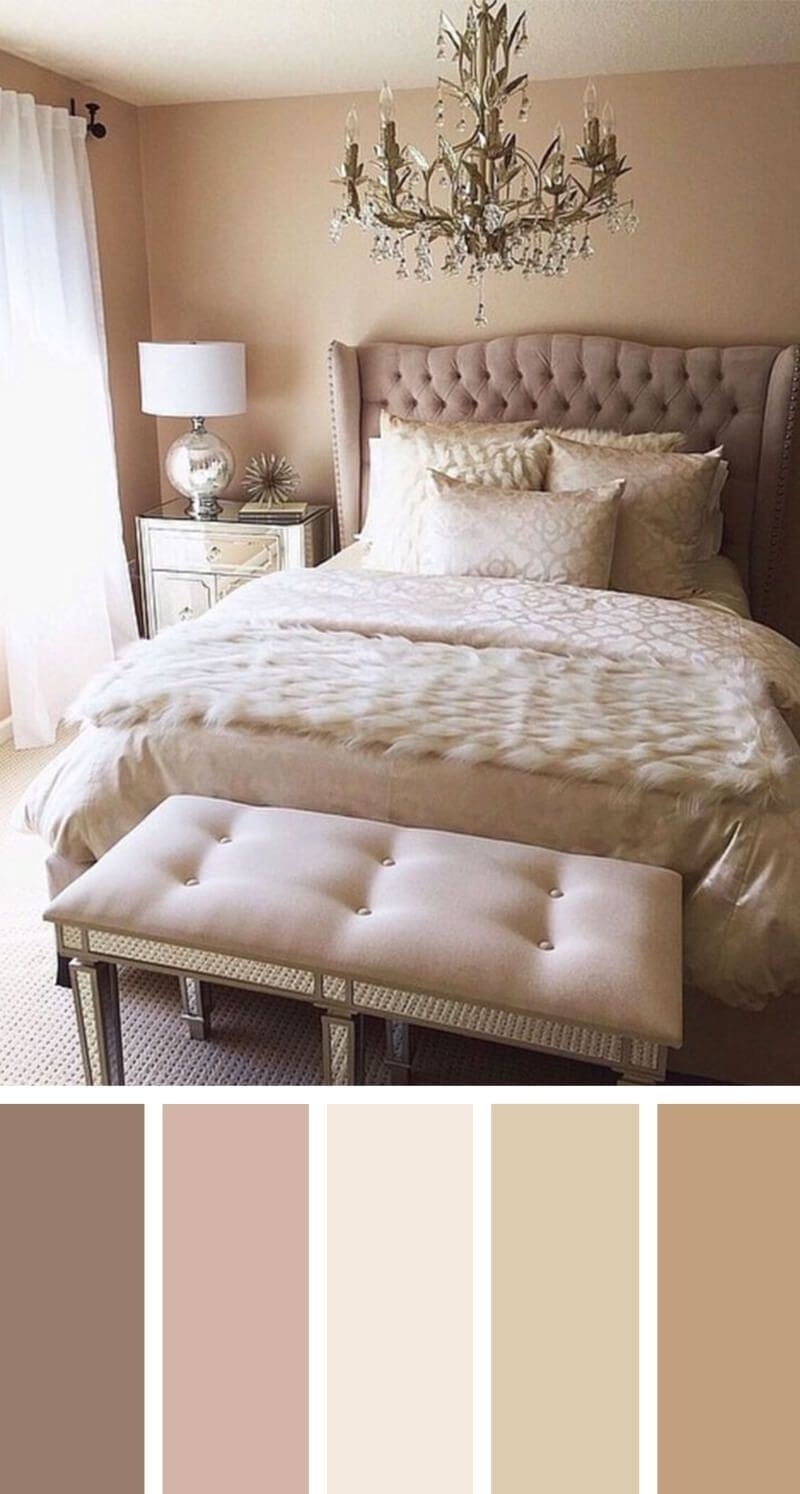 When considering to decorate your bedroom it is highly important to first choose the color of the room, as it will reflect the style and feel of the room in