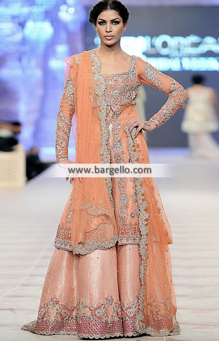 9 Beautiful Pakistani Wedding Dresses by Moraab