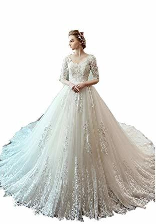 Discount Sparkly Ball Gown Wedding Dresses Capped Off Shoulder Sweep Train  Sequined Plus Size Wedding Dress Vestido De Novia Customized Bridal Gowns  Simple
