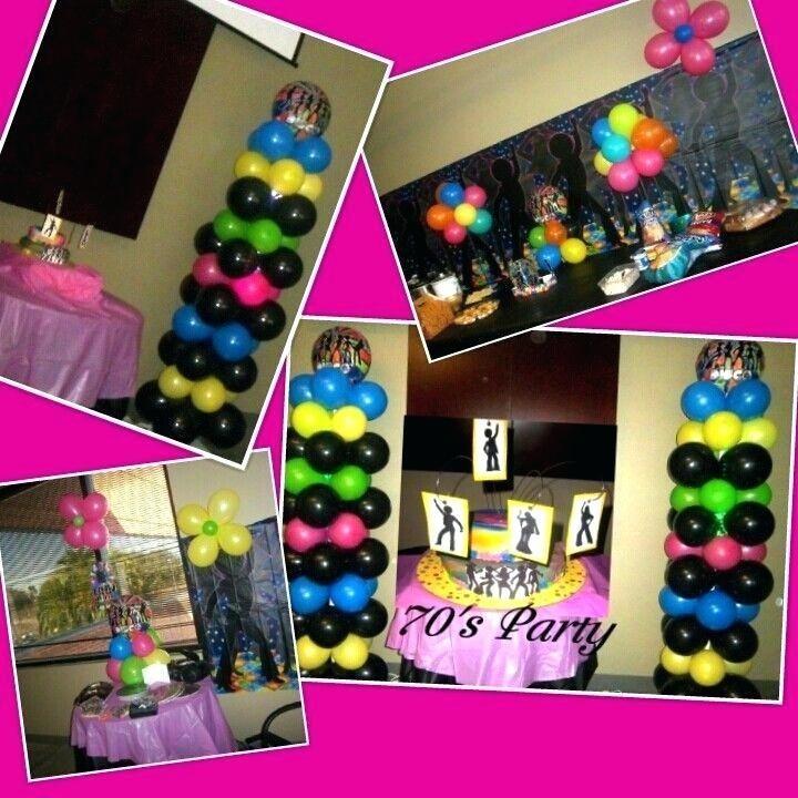 70s Party Decor; 70s Party Decoration Ideas