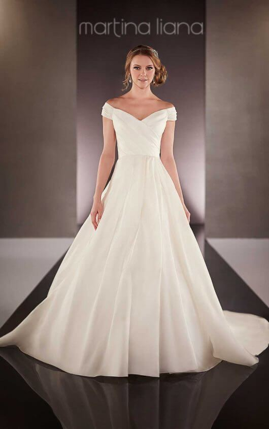 Sophia Tolli Wedding Dress Off Shoulder wedding dress