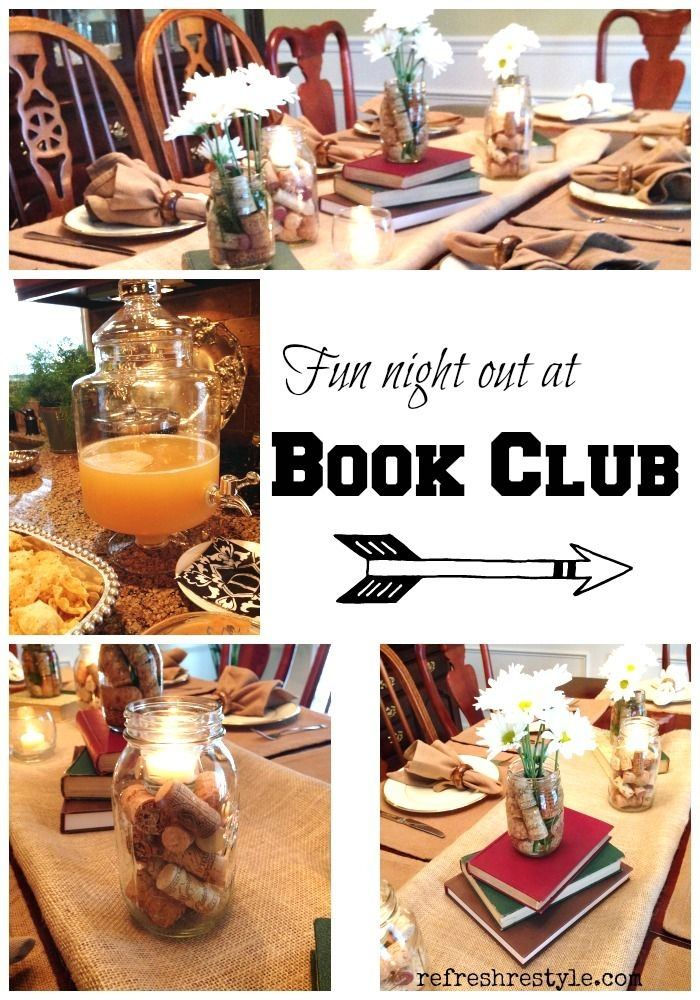 Best 25+ Book club parties ideas on Pinterest | Club