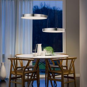 Curated image with Algorithm Grid Multilight Pendant by Vibia