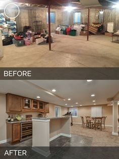 small basement ideas before and after basement living