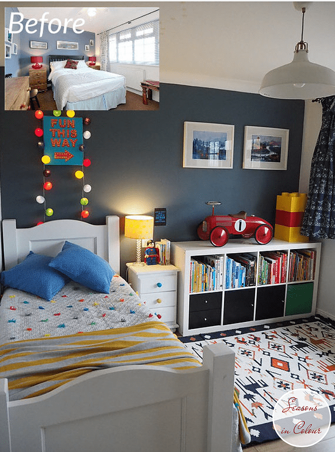 Check out these inspiring paint colour schemes for kids' bedrooms