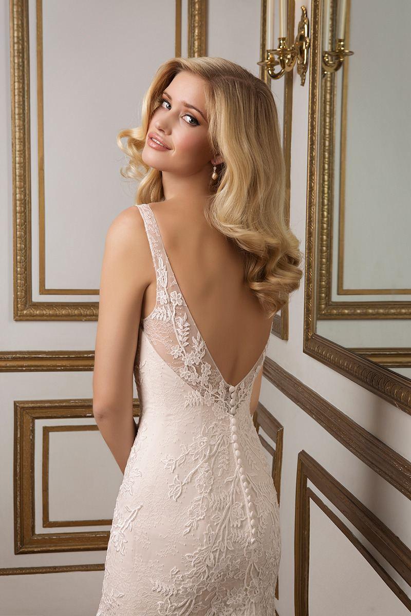 Justin Alexander 88017 Wedding Dress Ivory UK Size 14