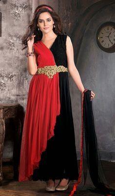 latest stylish Embroidered designer party Anarkali frock wedding formal dress designs
