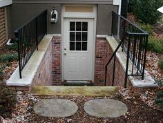 exterior outside basement entrance