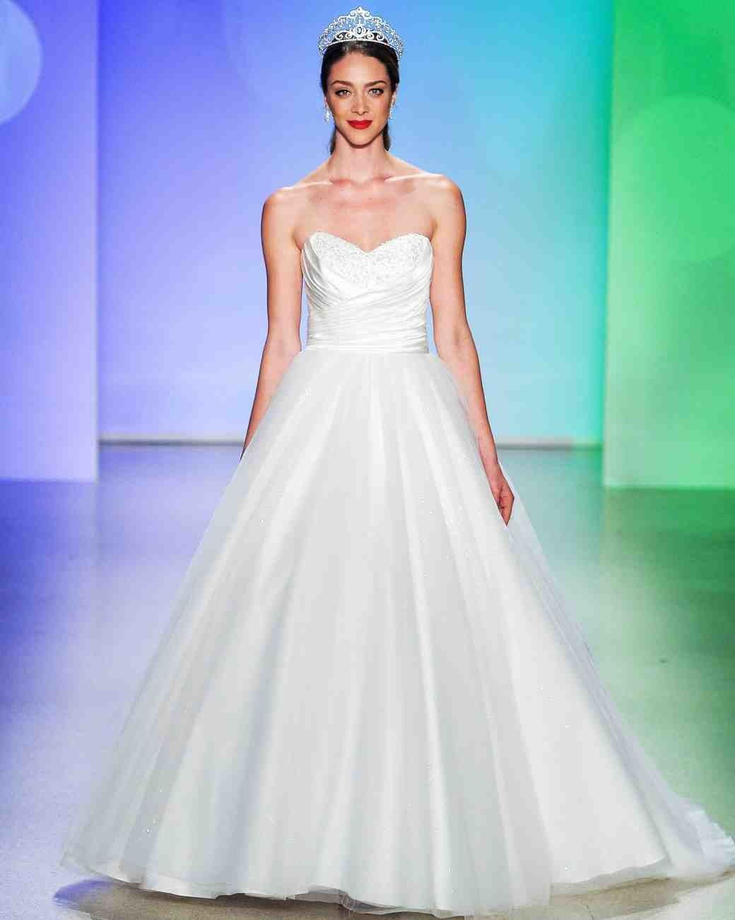 Disney Princesses Wedding Dress Collection by Alfreda Angelo Love the Belle  one