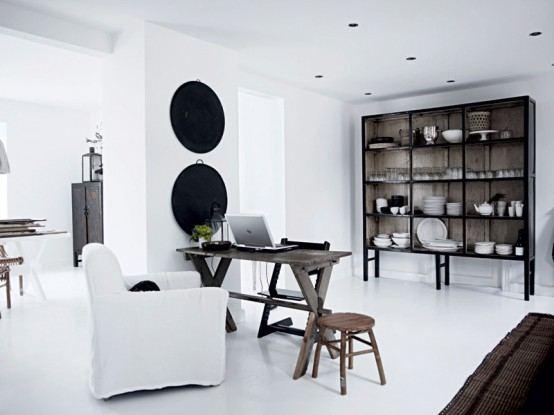 Stunning All White Interior Ideas
