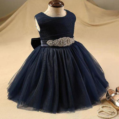 2019 Summer Baby Girl Clothes Wedding Newborn Dress For Girl Princess Dress  Infant First Birthday Girl