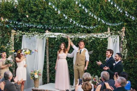 Simple backyard wedding decoration on a budget with small backyard wedding  ideas