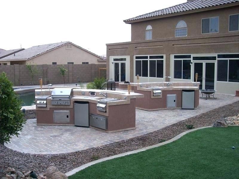 cinder block bbq island designs patio backyard
