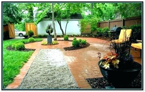 pea gravel patio ideas with brick border best of remarkable