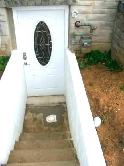 Outside Basement Trap Door