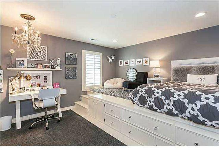 Cute Girl Rooms Big Girl Bedroom  Makeover Cute Little Girl