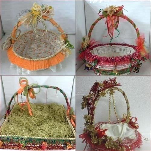 Diy Gift Idea Gift Basket How To Make Jk Arts 11 Youtube Decorative  Wedding Baskets Within