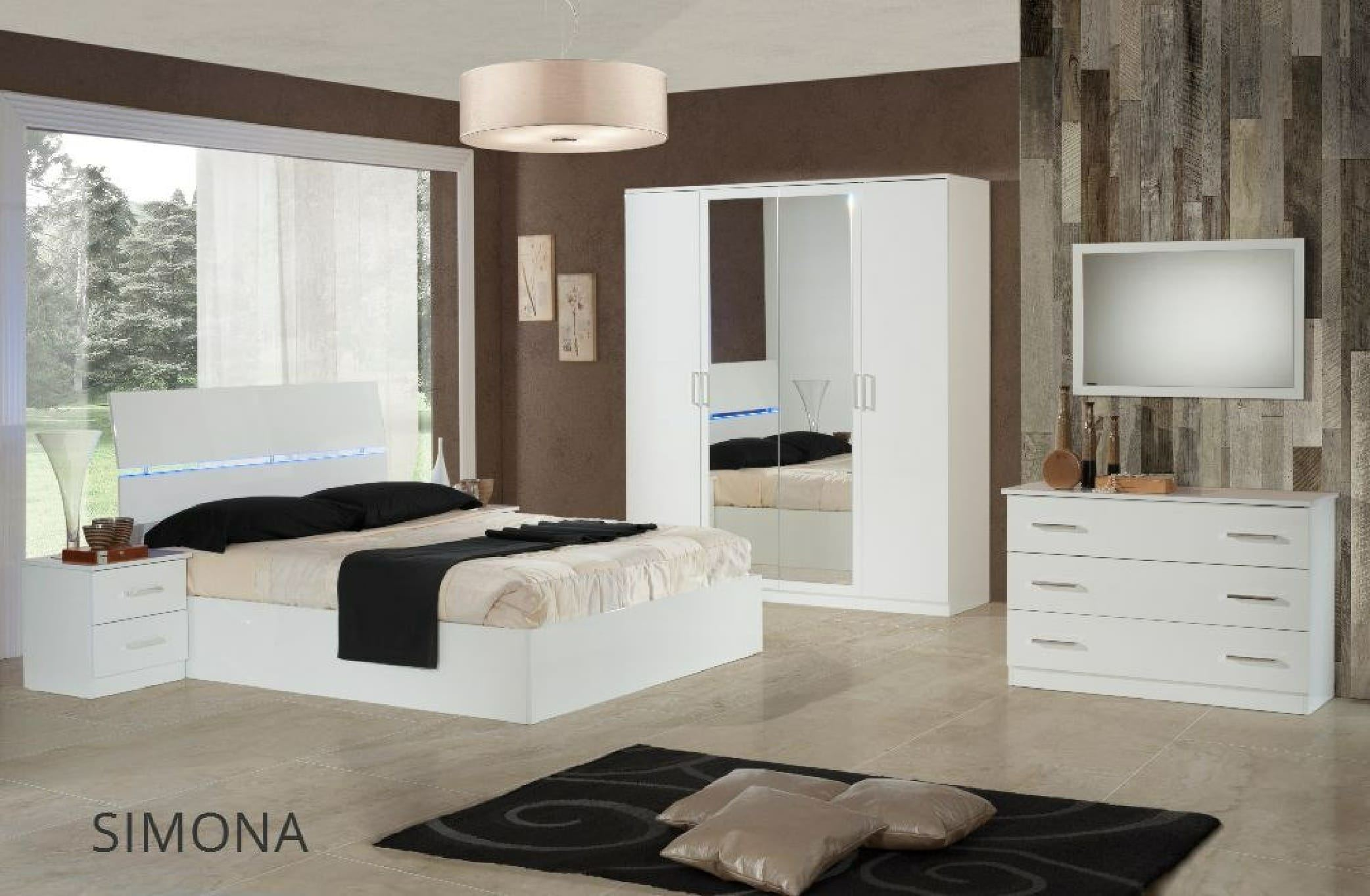 Italian Modern Contemporary Bedroom Set King Size Miss Italia by  Camelgroup, Italy