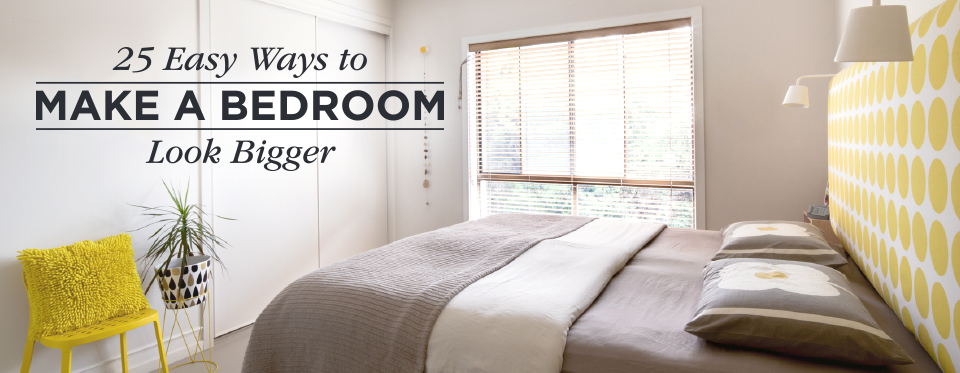 The best way to arrange furniture in a small bedroom