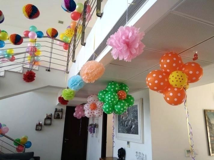 Winnie the Pooh themed Birthday party decorations in South East London