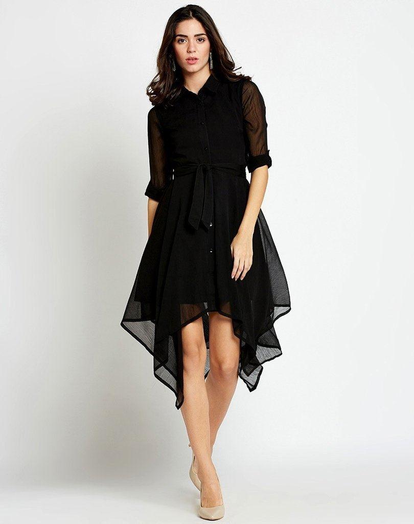 Dress Cinty Business Black