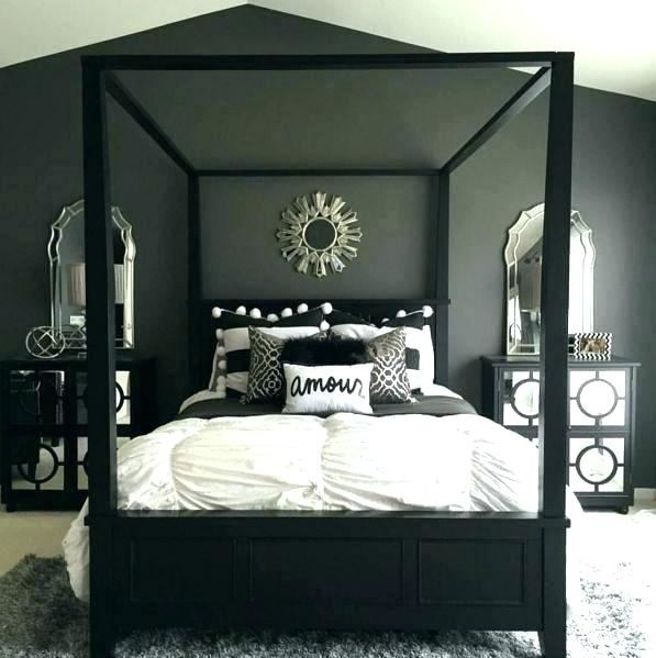 black and white red bedroom decor room living decorating ideas
