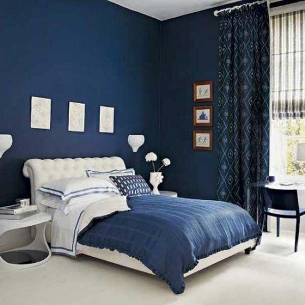 blue master bedroom ideas navy