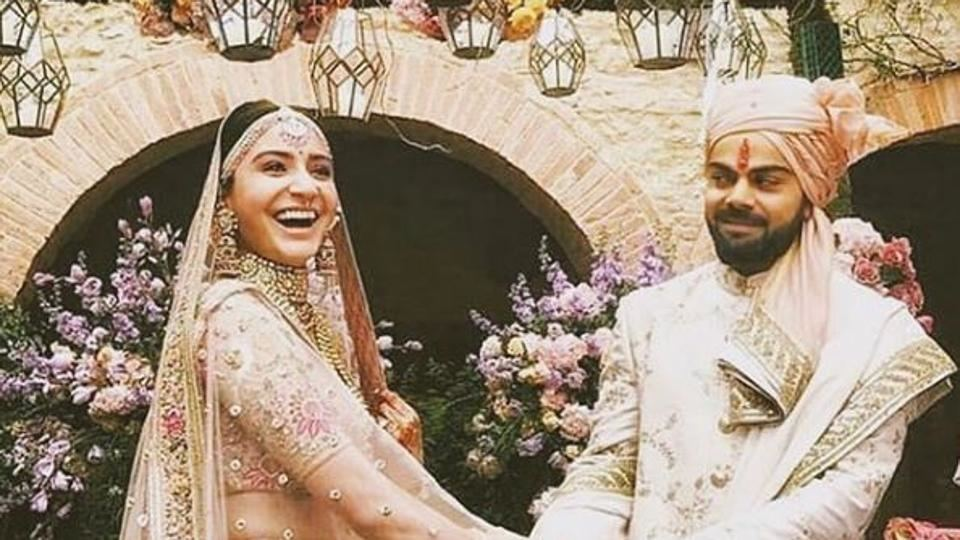 Anushka and Virat makes a great couple and looks adorable together
